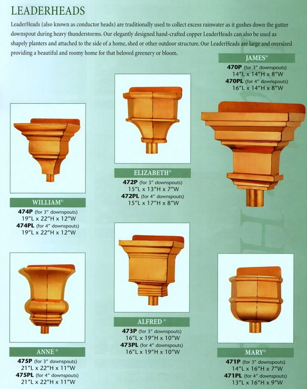 Cbd S Custom Downspout Funnels Leaderheads Or Scuppers Details Page Chimney Cap Downspout Copper Gutters
