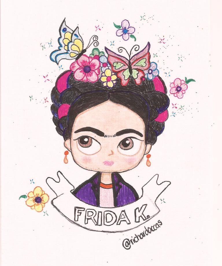 Resultado De Imagen De Frida Kahlo Caricatura De Nina Frida Kahlo
