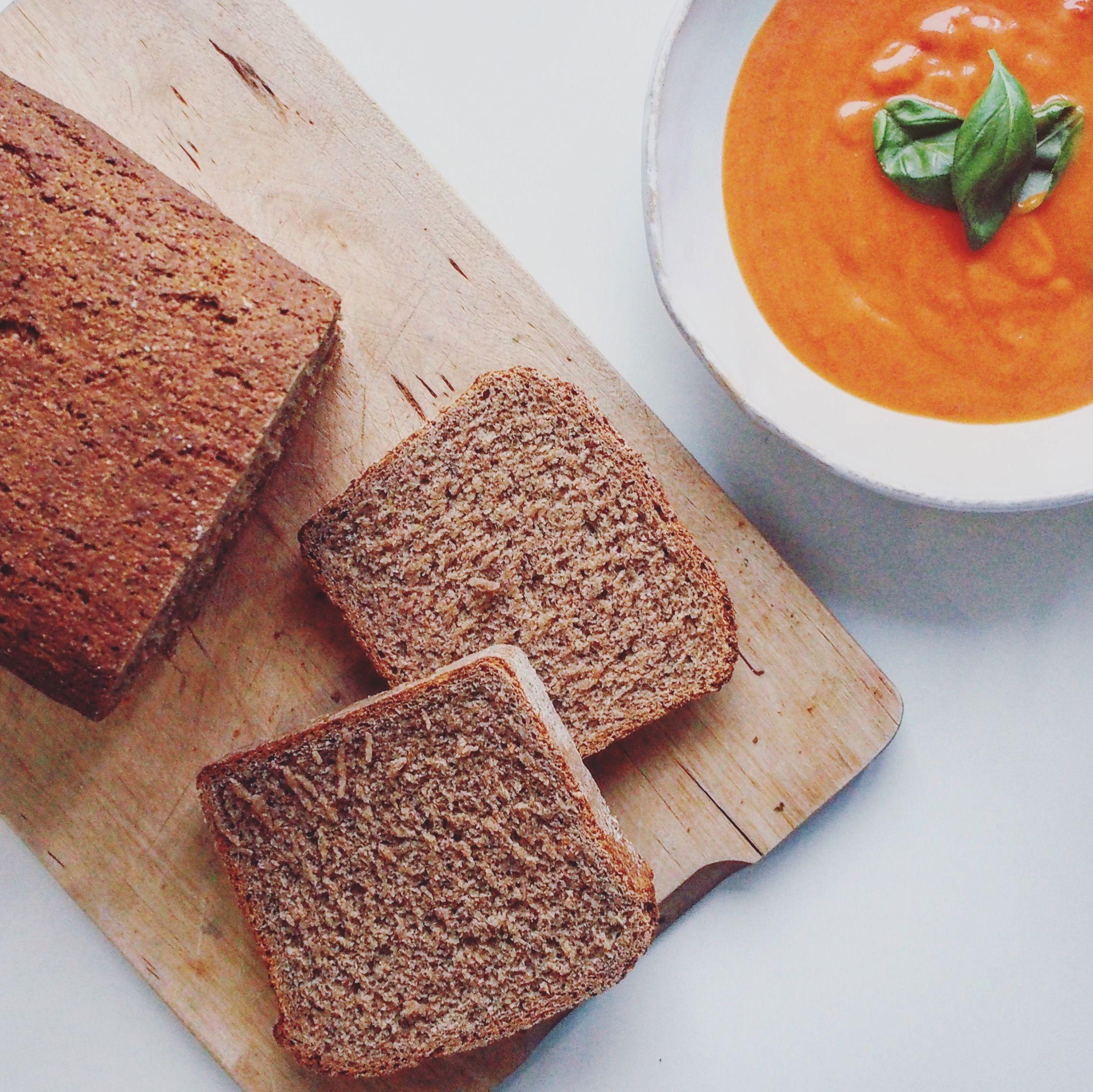 Easy rye and spelt bread spelt bread food eat