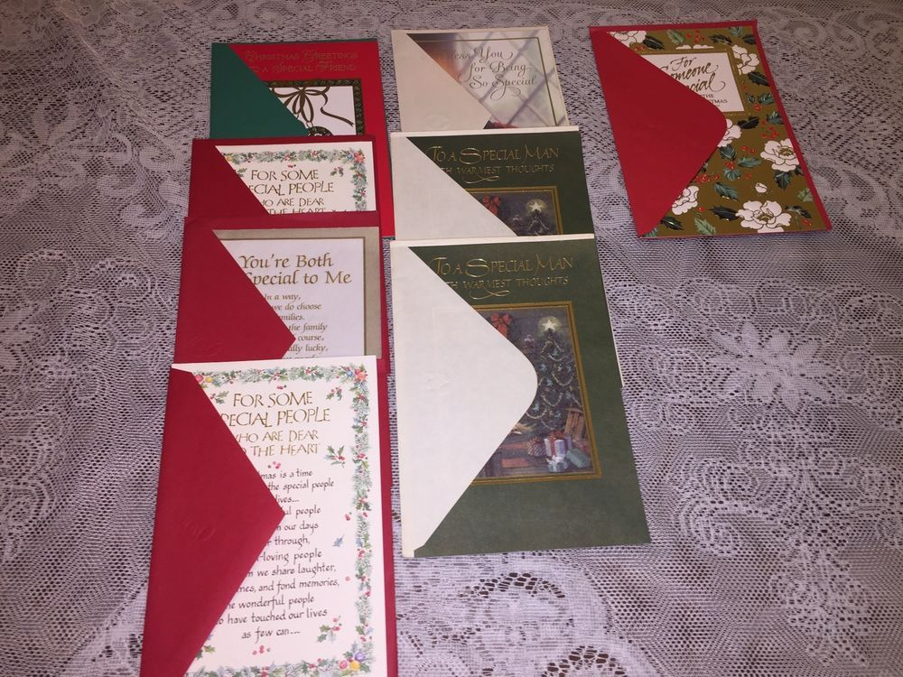American greetings christmas cards 8 large single holiday cards new american greetings m4hsunfo