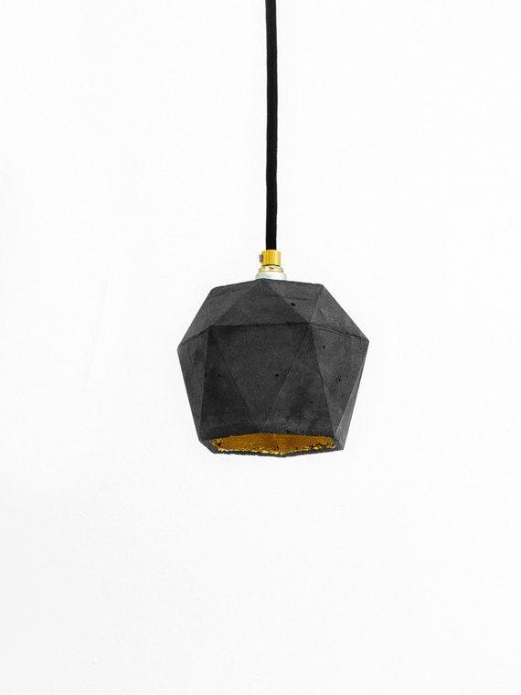 Concrete hanging lamp T2