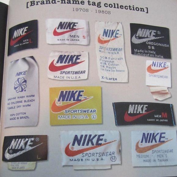 Vtg Nike Guide Vintage Tags Vintage Nike Vintage Branding