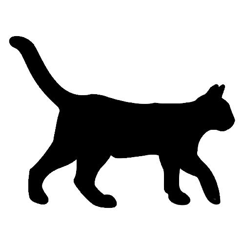 amor de silueta gato - photo #6