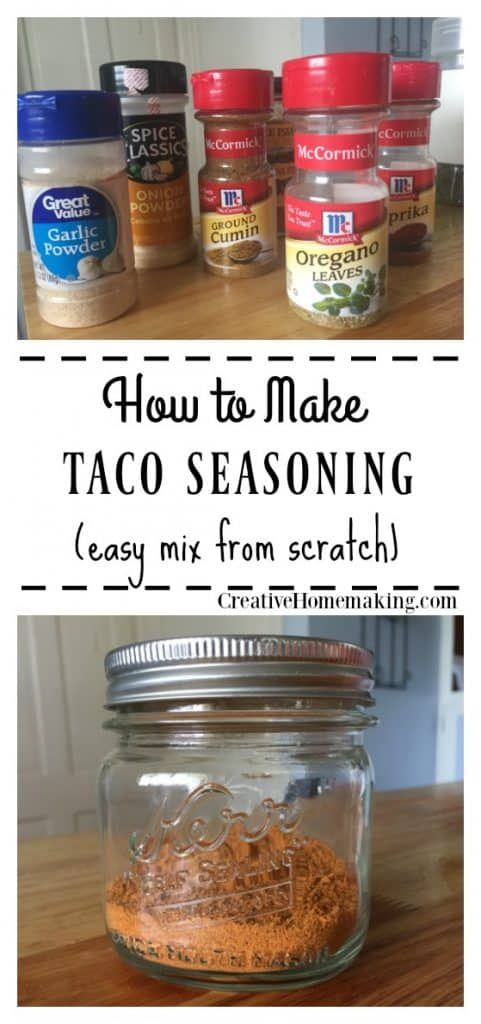 Taco Seasoning Mix Recipe #favoriterecipes