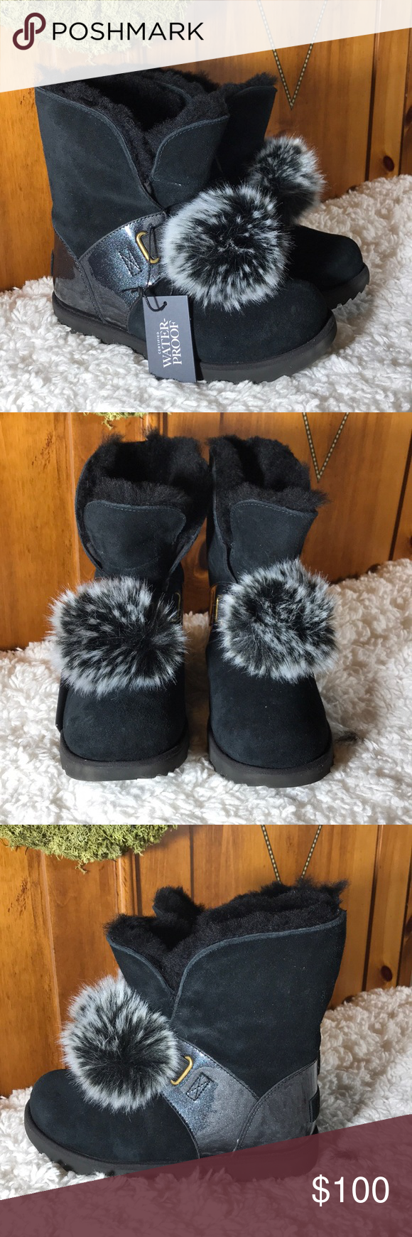 UGG Isley girls black boots - SZ 1 or 3 - NWT Adorable and practical! Brand new with store tags, box not included. UGG Shoes Rain & Snow Boots #uggbootsoutfitblackgirl UGG Isley girls black boots - SZ 1 or 3 - NWT Adorable and practical! Brand new with store tags, box not included. UGG Shoes Rain & Snow Boots #uggbootsoutfitblackgirl
