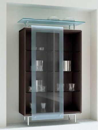 Awesome Contemporary Glass Curio Cabinets