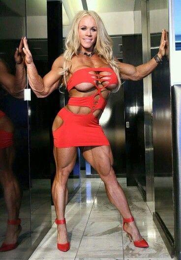 Big muscled sexy women