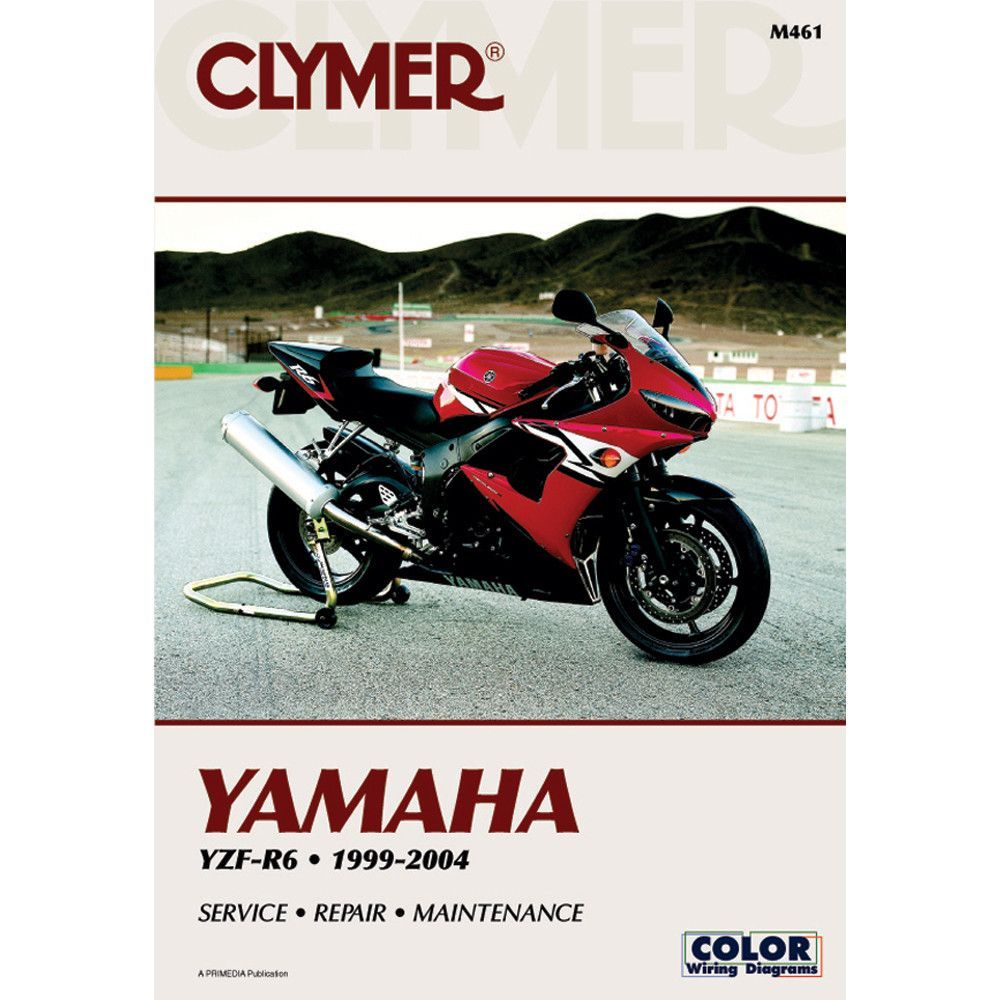 Clymer Yamaha Yzf R6 1999 2004 Sbs Products Pinterest Fzx700 Wiring Diagram