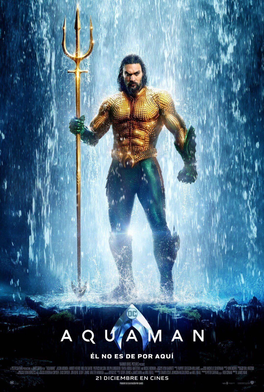 Pin By Daniel Mendez On Afiches De Peliculas Aquaman Film Aquaman 2018 New Aquaman