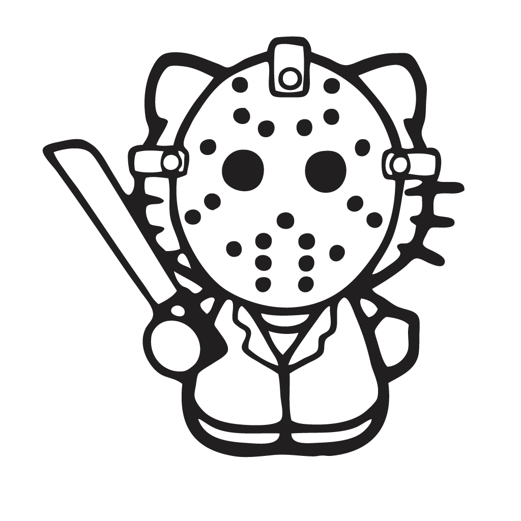 Hello Kitty skeleton (possible pumpkin carving idea) | Holiday Fun ...