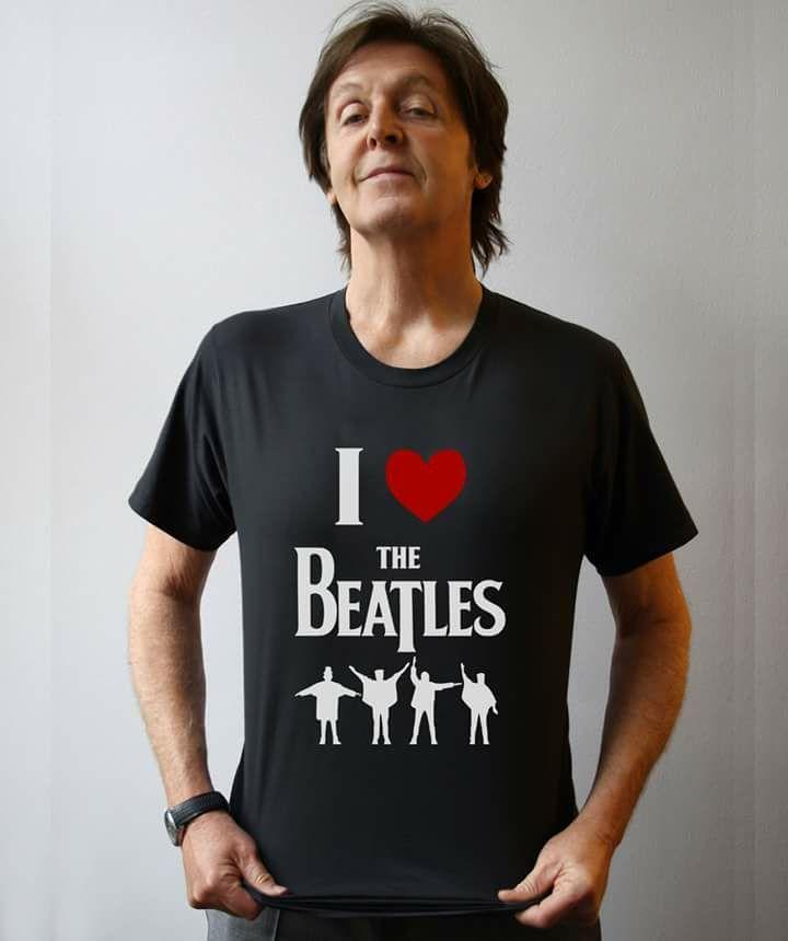 Paul McCartney is rocking the I heart beatle tee... where can I find one myself?