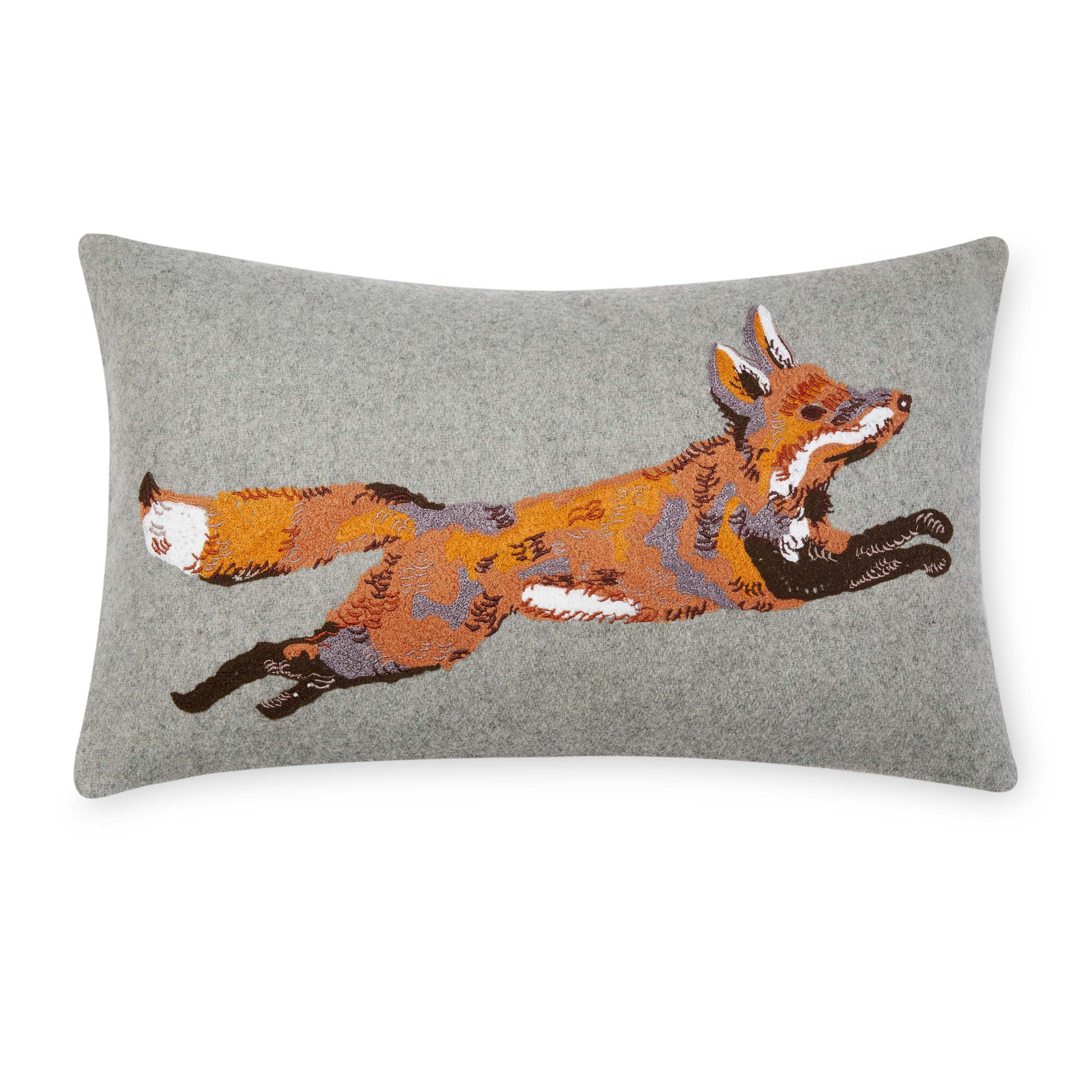 Handmade Foxes 100/% Cotton Cushion Cover.Various sizes