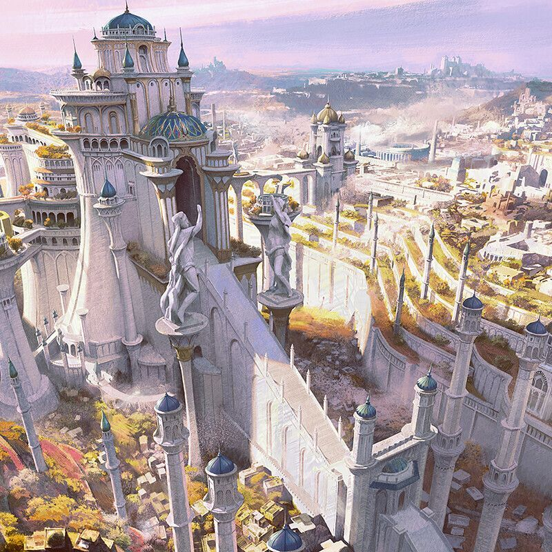 29++ Fantasy cityscape ideas