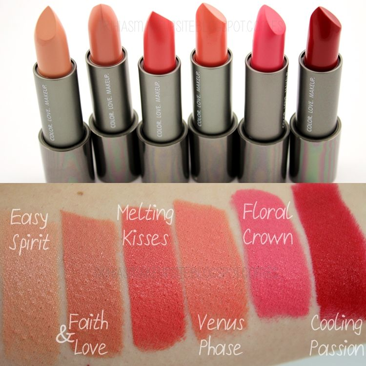 ZOEVA Luxe Cream Lipstick | Lipstick and Lips, all shades of red ...