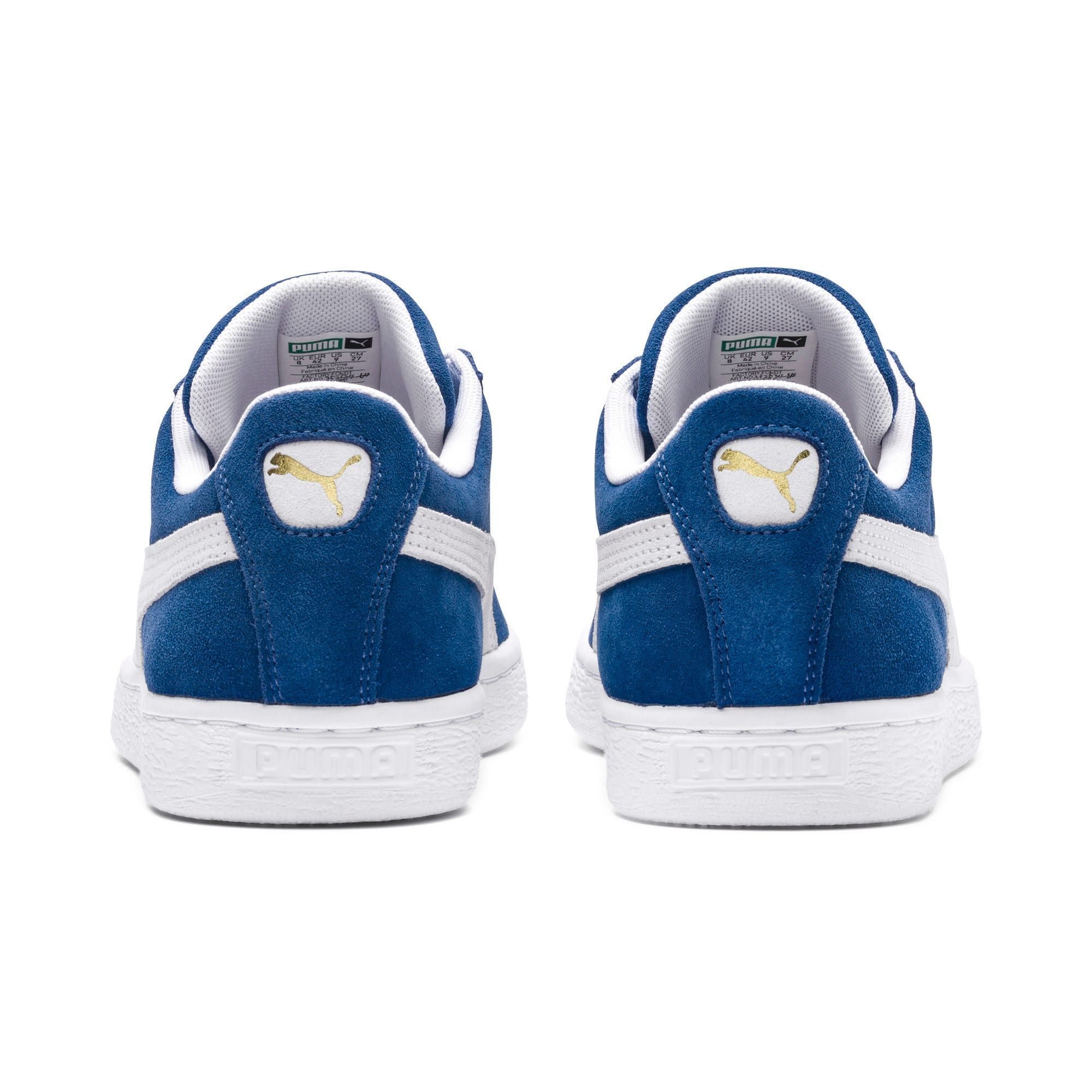 Photo of Suede Classic+ Trainers | olympian blue-white | PUMA Best Sellers | PUMA United Kingdom