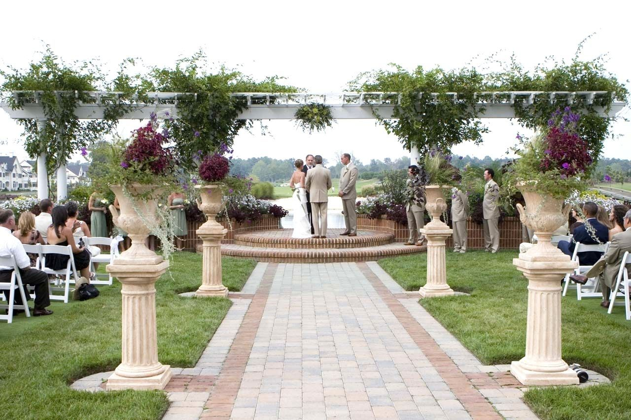 10 Wonderful Outdoor Wedding Ideas On A Budget garden wedding ideas ...