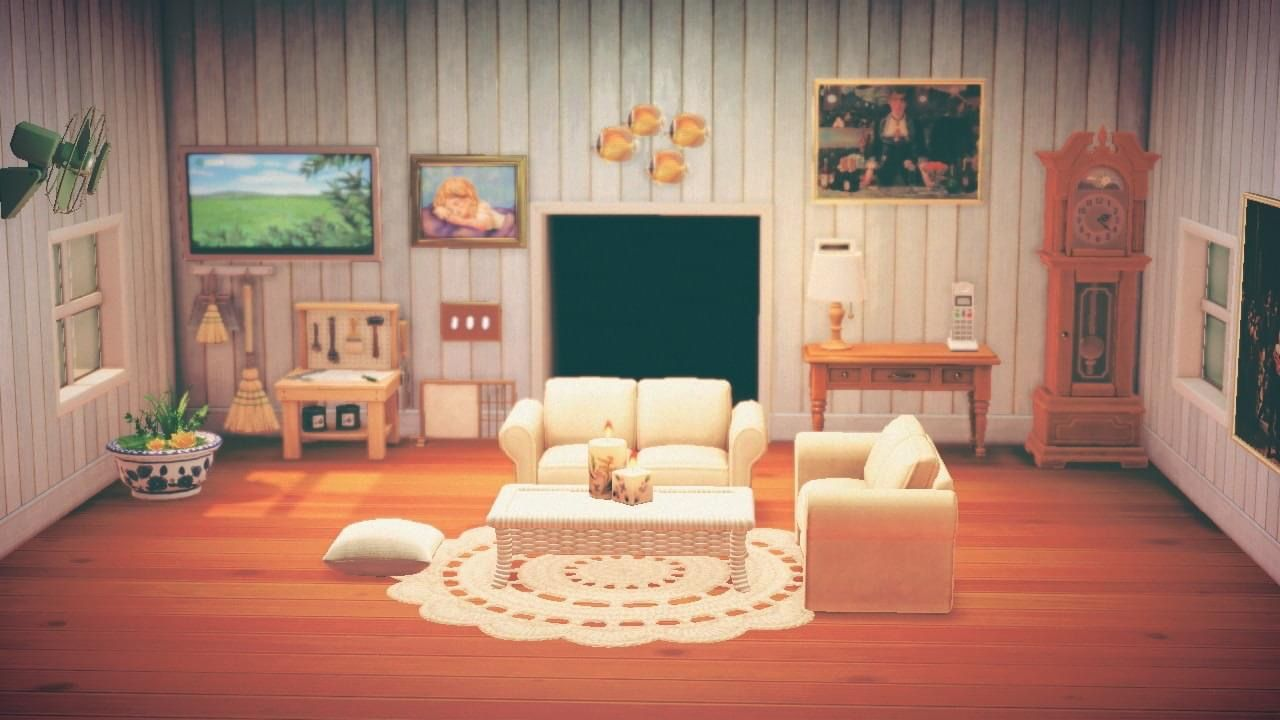 Living Room Animal Crossing in 2020 | Living room designs ... on Animal Crossing New Horizons Living Room  id=54188