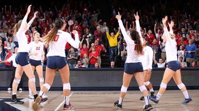 Arizona Volleyball Season In Review Volleyball News Volleyball Volleyball Team