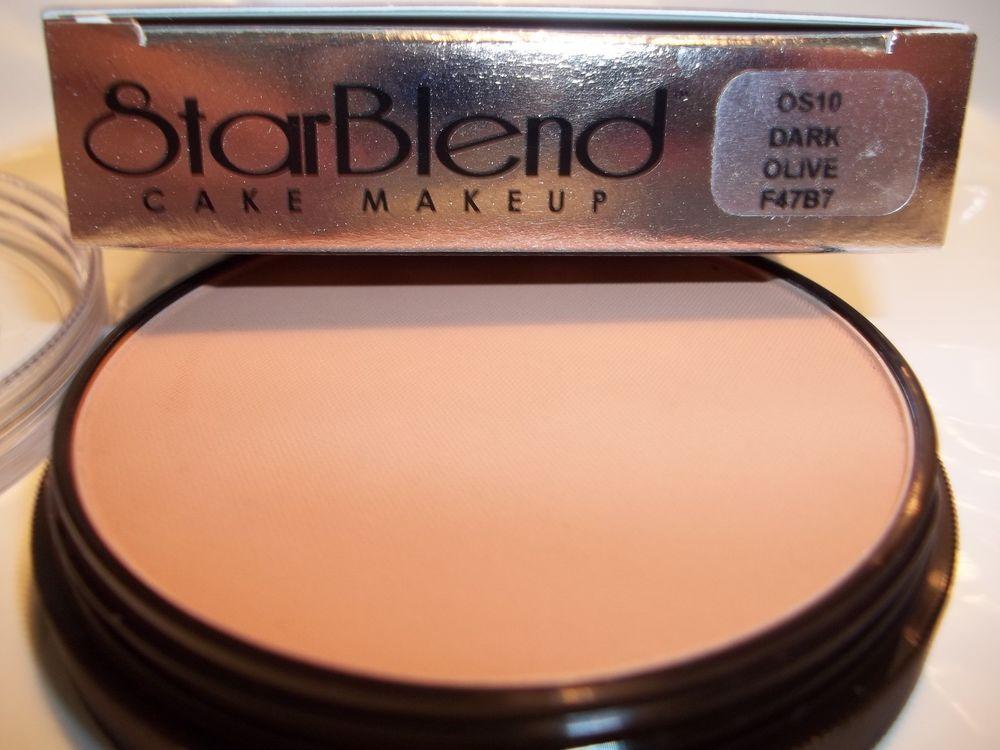 Mehron Star Blend Cake Pancake Water Base Makeup Olive Shades Professional Usa Mehron Makeup Base Makeup