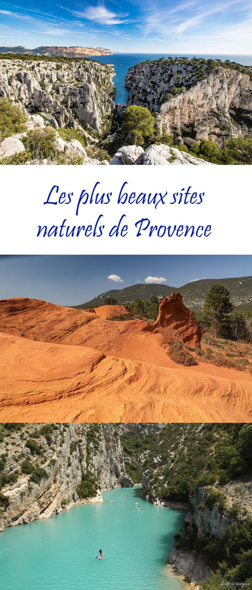 Les Plus Beaux Sites Naturels De France : beaux, sites, naturels, france, Trips, France, France,, Travel,, Camping, Provence