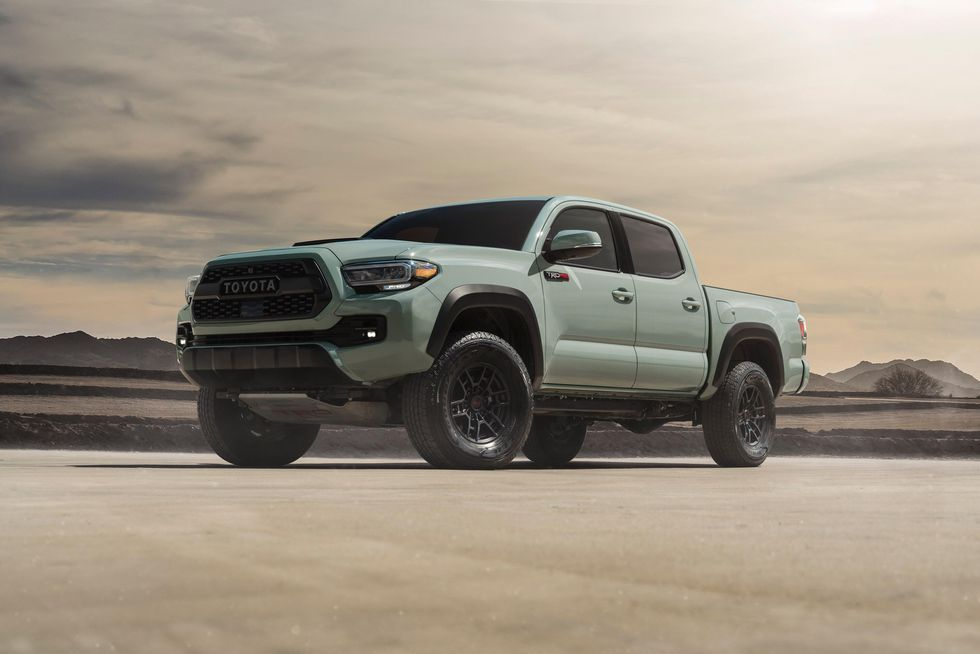 2021 Toyota Trd Pro Models Get A New Color 4runner Gets Beefed Up Suspension Roadshow In 2020 Toyota Trd Pro Toyota Tacoma Toyota Tacoma Trd Pro