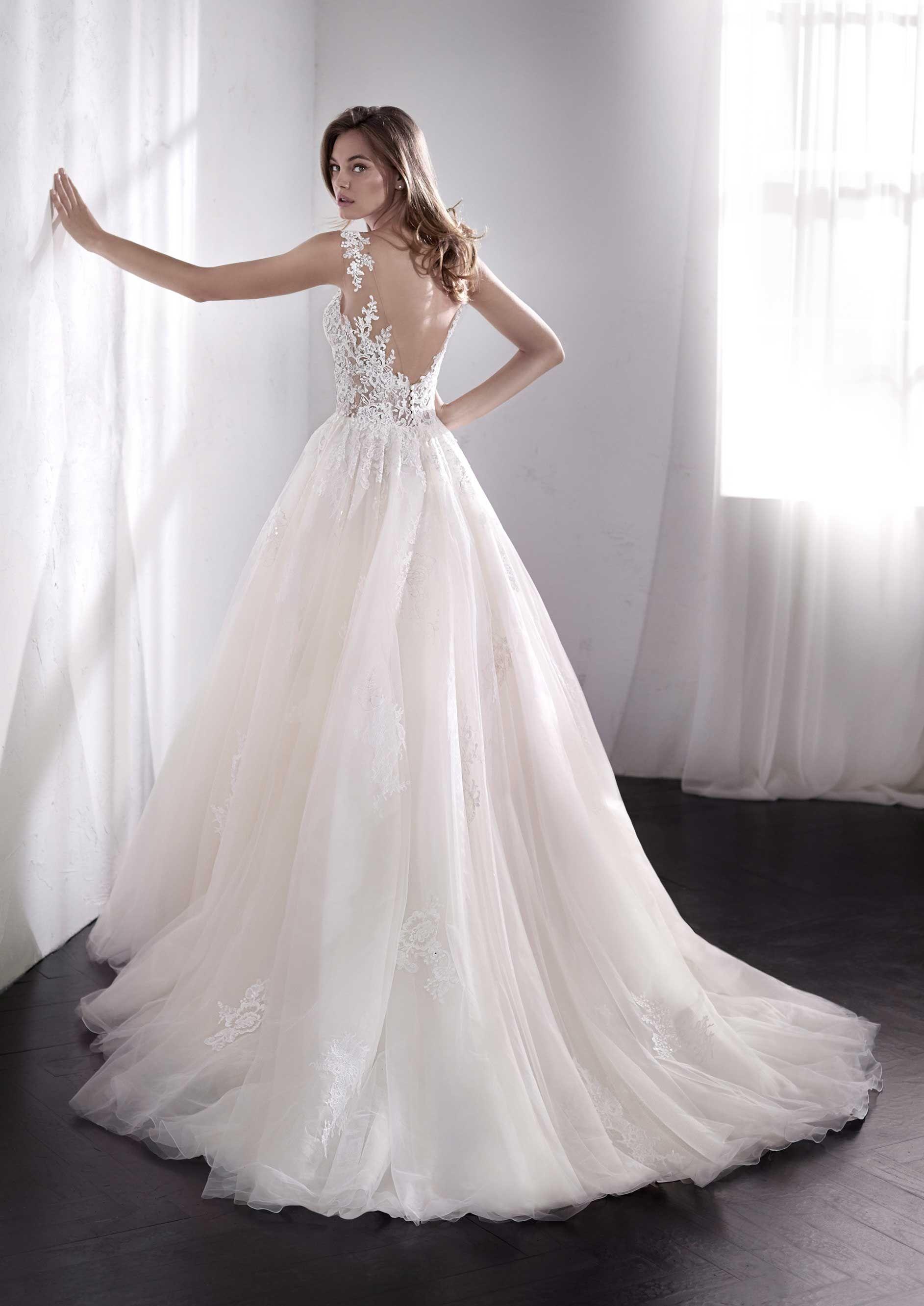 Brautmode San Patrick  Brautkleid Libano  Kleid hochzeit