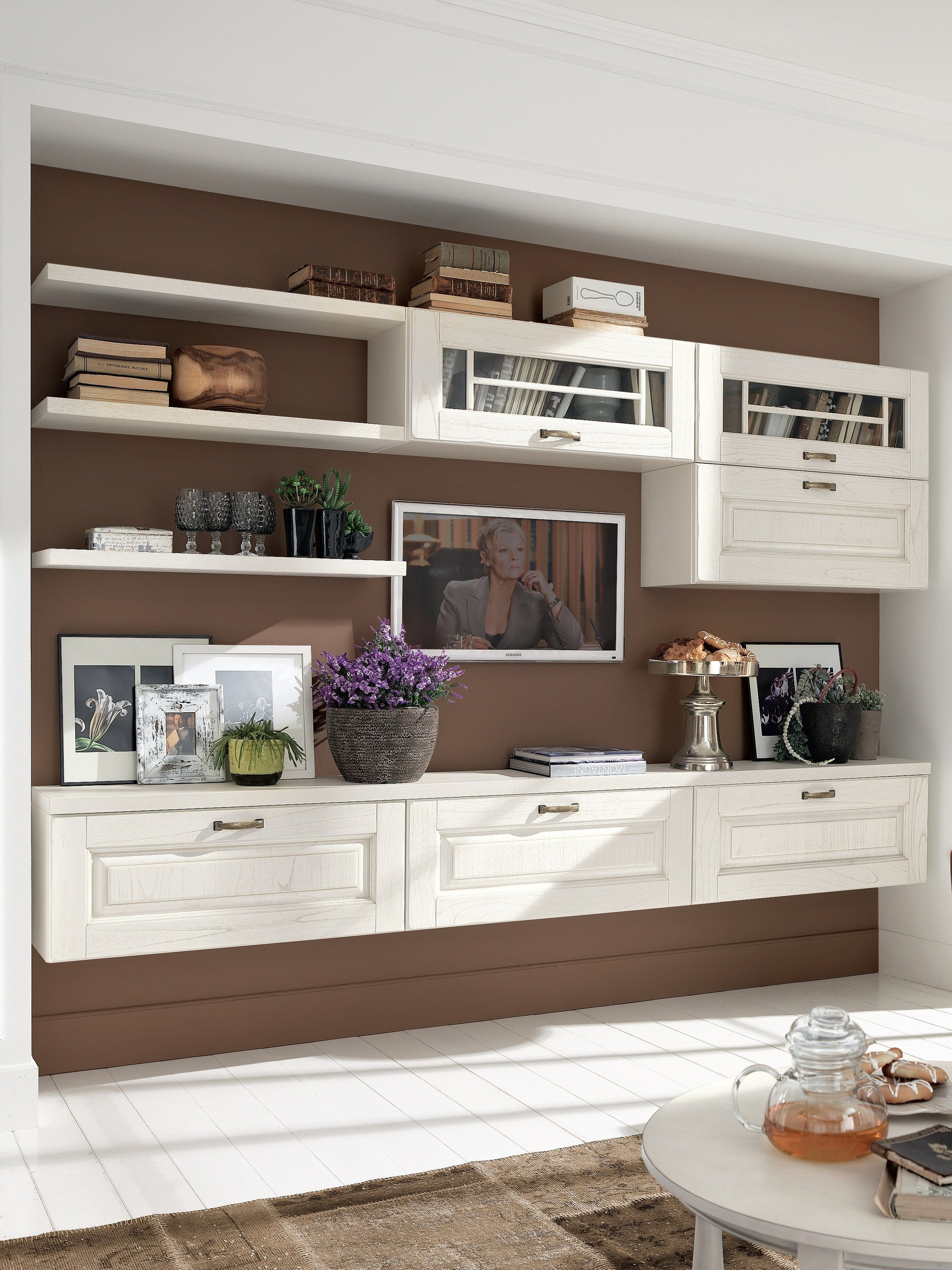 LAURA Storage wall by LUBE INDUSTRIES S.R.L. in 2020 ...