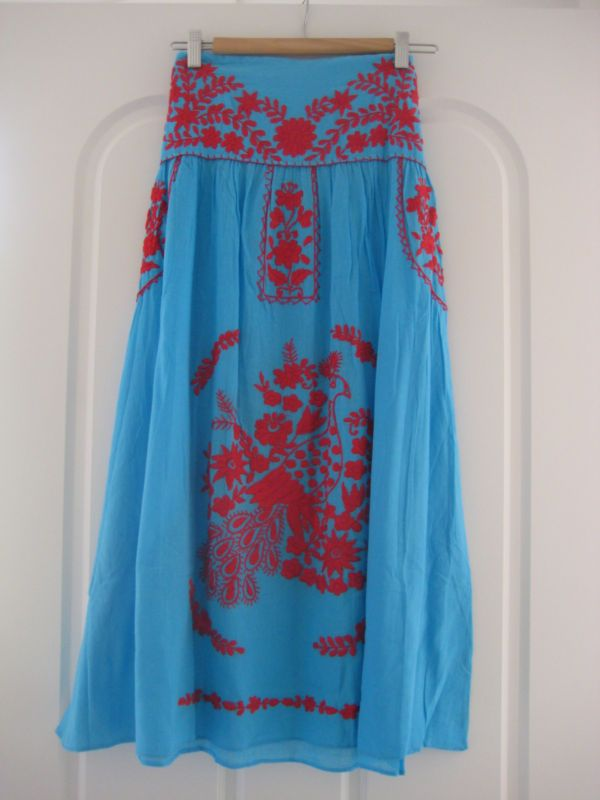 Mexican embroidered dress | eBay