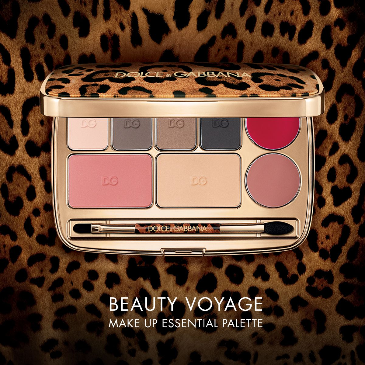 Beauty Voyage Is The New Dolce Gabbana Make Up Palette Bringing Beauty Looks To The Palm Of Your Hand Perfect For Your Handbag This Exquisite Gilded Kosmetika