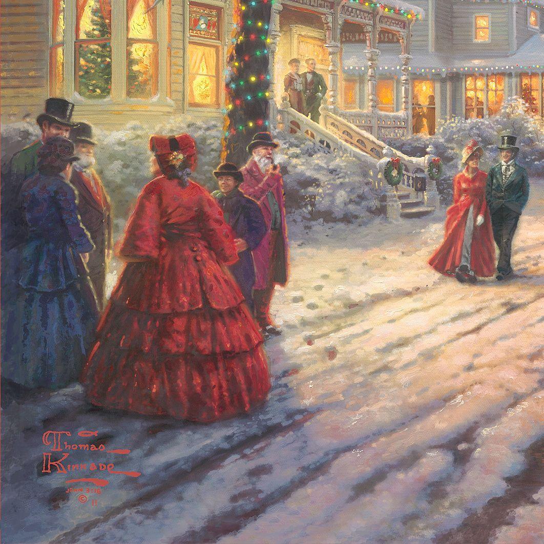 A Victorian Christmas Carol – Limited Edition Canvas | Thomas Kinkade Studios
