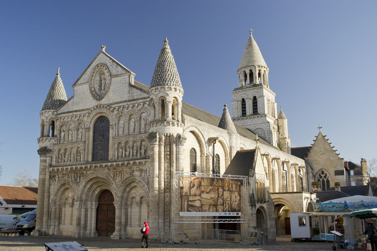 France By Vinterriket Barcelona Cathedral Romanesque Architecture
