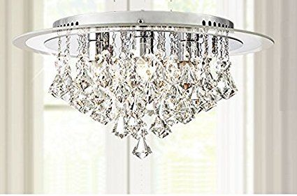 pretty nice 17c9a 85d36 Saint Mossi Modern K9 Crystal Raindrop Chandelier Lighting ...
