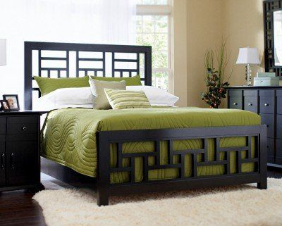 Broyhill Perspectives Lattice Bed - Queen Size Broyhill | metal bed ...