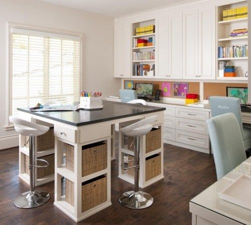 Arts And Crafts Room For Kids And Adults For The Home Fun At Home Craft Room Office Craft Room Design Homework Room