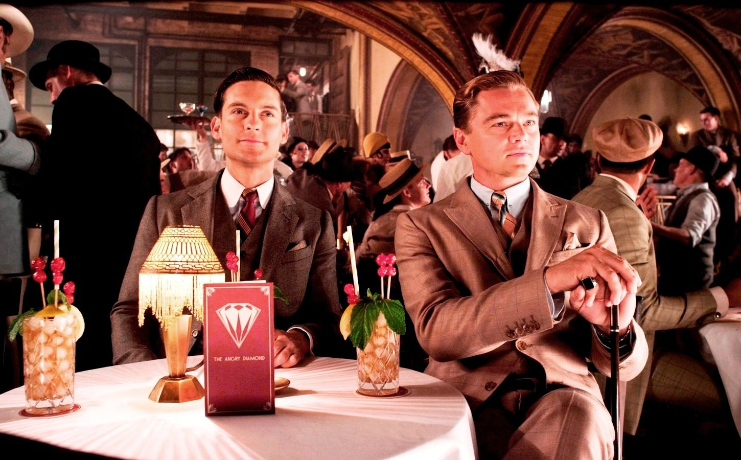 """""""The Great Gatsby,"""" gaudy and extravagant."""
