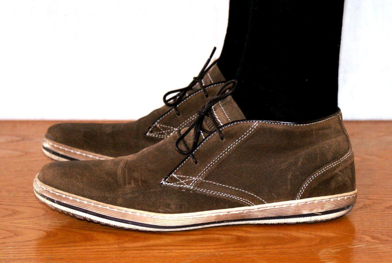 Wonderful Suede Sneaker Man Shoes US Size 9 Branded ZIGN
