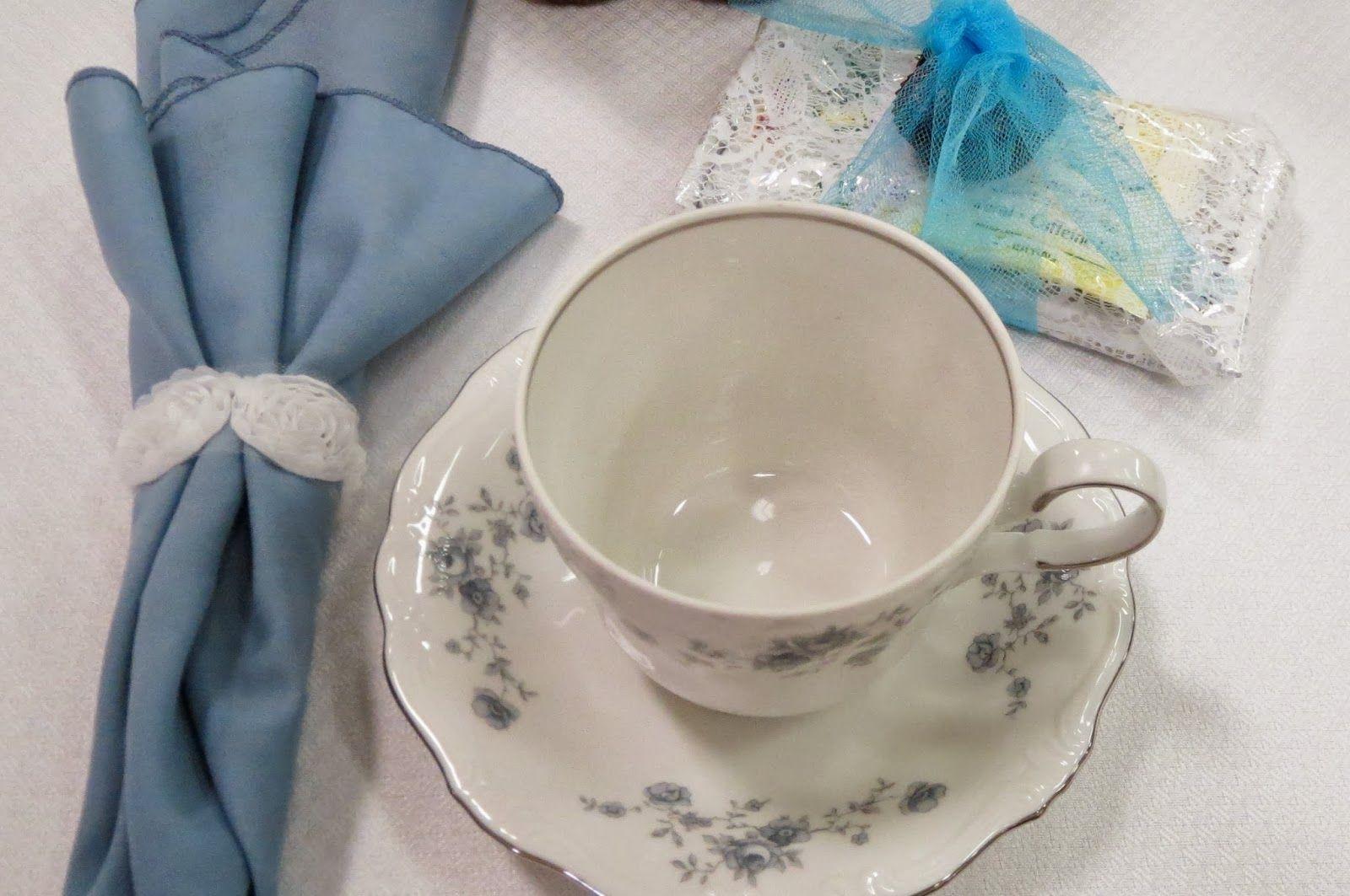 Rejoicing In The Present: Ladies Tea: Napkin Holders