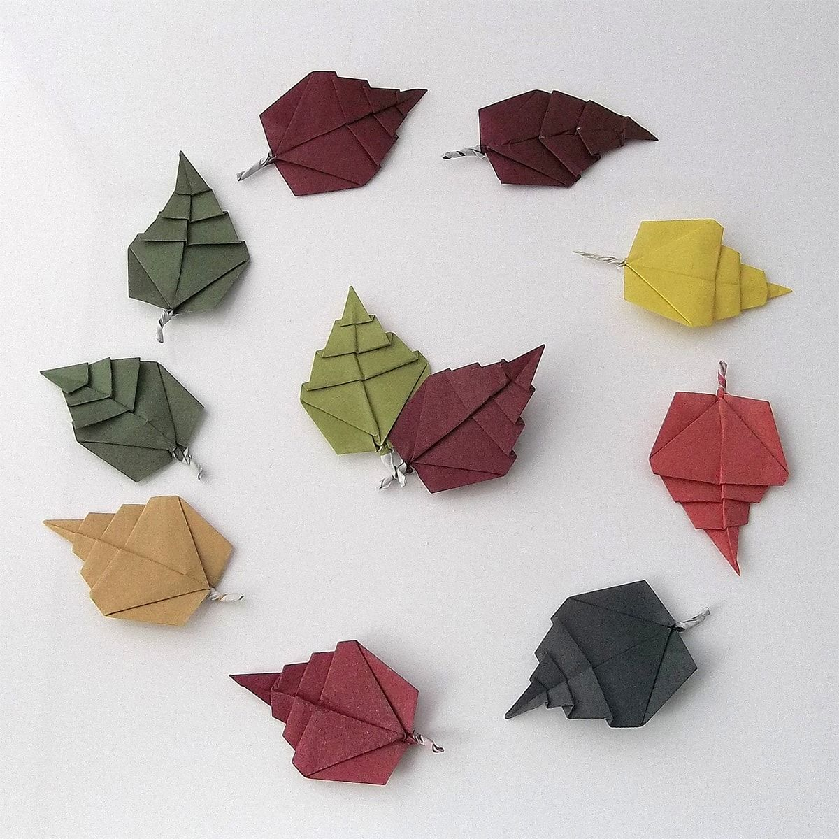 Photo of Autumn Now, Designed and Folded by Peter Keller