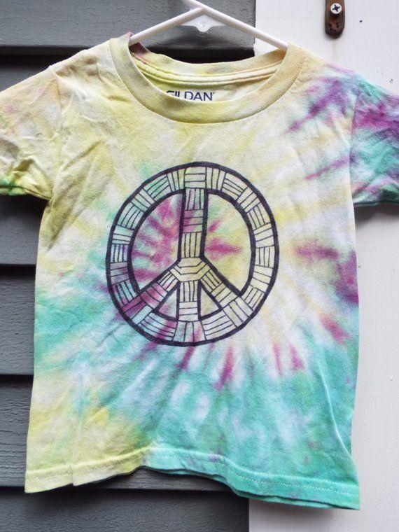 1b70e31dbf288 3T Peace Sign Shirt, Tie Dye Peace Sign T-Shirt, Toddler Tie Dye Shirt, 3yo  Boy, Toddler Boys Hippie