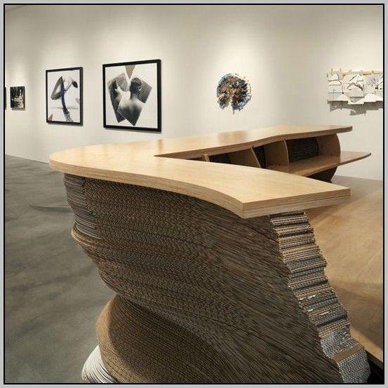 Reception Desk Ideas Diy