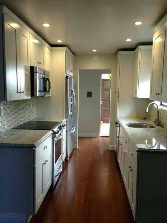 Kitchen Ideas Uk | Small galley kitchen designs, Galley ...