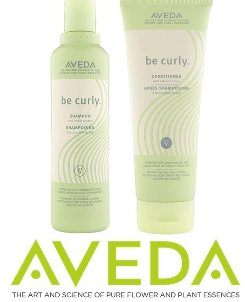 AVEDA BE CURLY HAIR SHAMPOO 8.5 oz. & BE CURLY CONDITIONER 8.5 OZ. NEW & FRESH  #Aveda