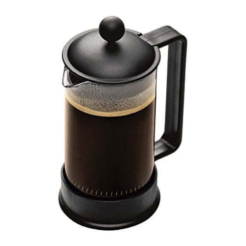 Bodum Brazil French Press Coffee Maker Safety Aroma Seal Dishwasher Safe Black Makes 3 Cups 0 3 Camping Coffee Maker Coffee Press French Press Coffee