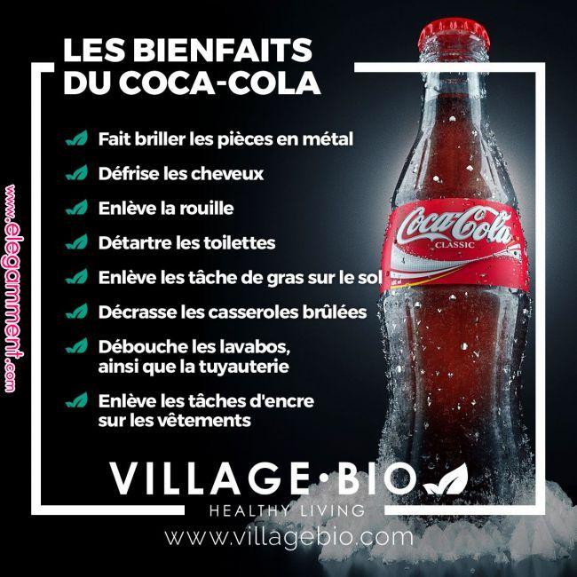 Les avantages de COCA-COLA ...