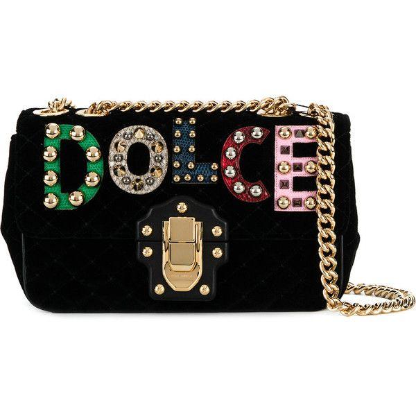 Avec En Ligne Paypal Dolce & Gabbana Sac À Bandoulière Matelassé Lucia - Noir Dédouanement Livraison Rapide Jeu Ebay Prix Pas Cher Sortie 8anhhkf