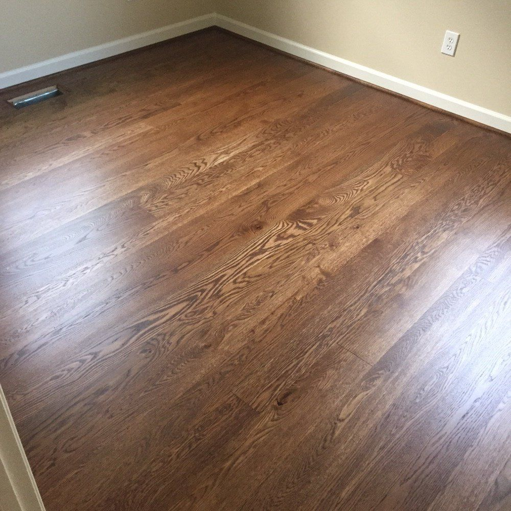 White oak duraseal provincial and 3coats of bona traffic for Hardwood floors stain colors