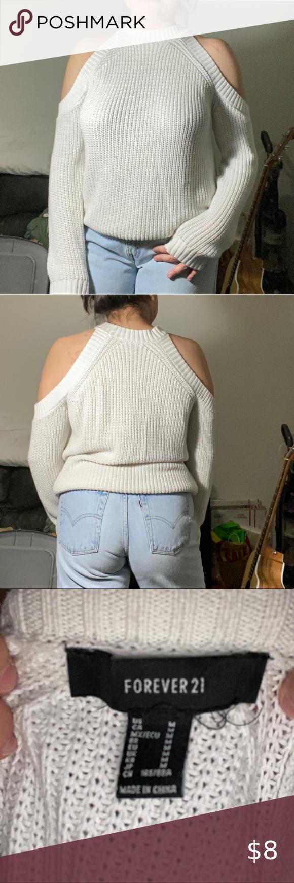 Photo of [ forever 21 ] suéter de hombro abierto super lindo! no tiene fallas, se adapta a L también! com …