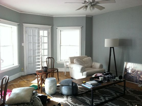 Behr Classic Silver | Living room color, Living room paint, Paint colors for living room