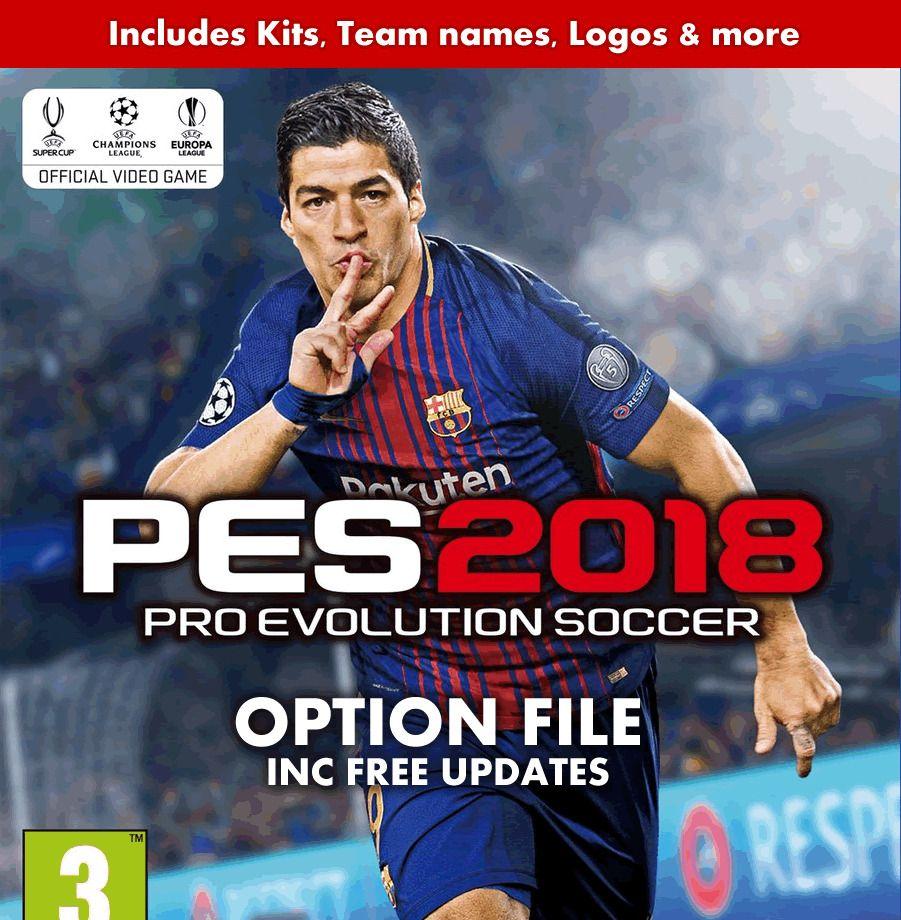3 85 GBP - Pes 2018 Option File Ps4 Pro Evolution Official
