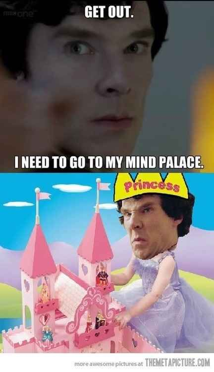 But the implications are awesome. You might actually develop…A MIND PALACE.